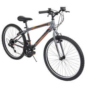 Granite™ Men's Mountain Bike, Gray, 24-inch