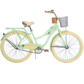 Deluxe™ Women's Cruiser Bike, Green, 26-inch