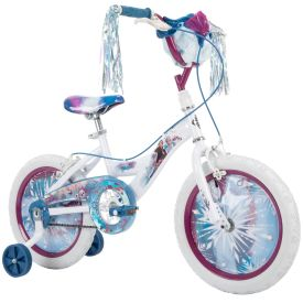 Disney Frozen 2 Bike with Streamers & Basket, 16 inch