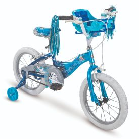 Disney Frozen Kids' Bike, Blue, 16-inch
