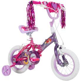 Disney Princess Kids' Bike, Purple, 12-inch
