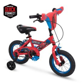 Marvel Spider-Man Kids Bike 12-inch, Quick Connect