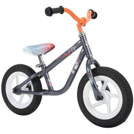 Disney Frozen 2 Balance Bike for Toddler & Kids, Olaf Graphics, 12 inch, Orange