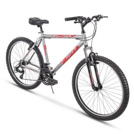 Escalate™ Men's Mountain Bike, Silver, 26-inch, 20-inch frame