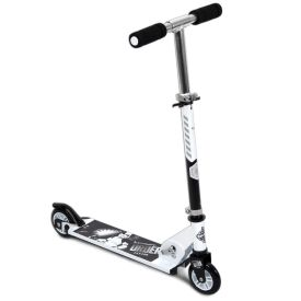 Star Wars Stormtrooper Kids' Folding Inline Scooter, Black and White