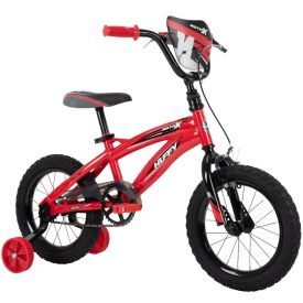 Kids 14-inch Bike in red and black
