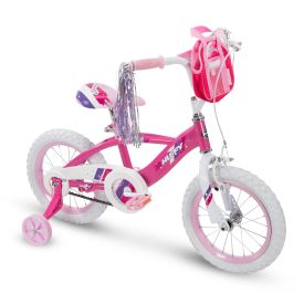 Glimmer™ Girls' Bike, Pink, 14-inch