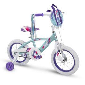 Glimmer™ Girls' Bike, Blue, 14-inch
