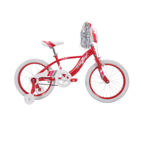 Glimmer™ Girls' Bike, Red, 18-inch