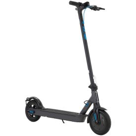 Huffy 36V Electric Folding Lightweight Kick Scooter for Adults, Blue