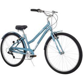 "27.5"" light blue Casoria women's comfort bike"