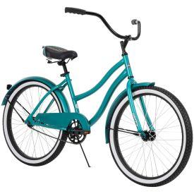 """24"""" matte mint green women's Cranbrook cruiser bike"""
