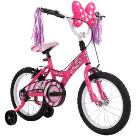"16"" pink Disney minnie bike"