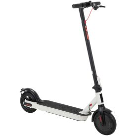 Huffy 36V Electric Folding Lightweight Kick Scooter for Adults, White