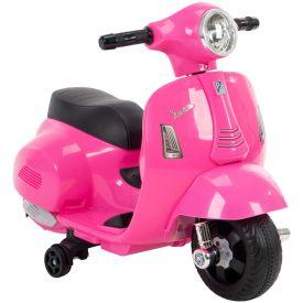 Vespa H1 Electric Toddler Ride-On Toy for Kids, Pink, 6V