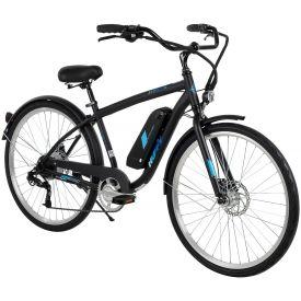 """Black 27.5"""" Everett + men's 36V e-bike"""
