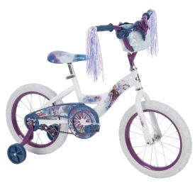 Frozen 2 bike with Elsa and Anna graphics