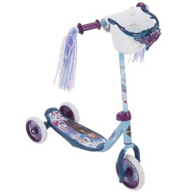 Frozen 3-wheel scooter with Elsa and Anna graphics