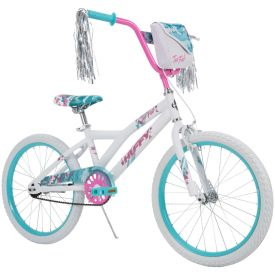 Too Fab Girls Bike for Kids, White, 20-inch