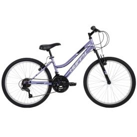 Girls' mountain bike with 18 speeds