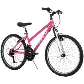 "24"" pink mountain bike for girls"