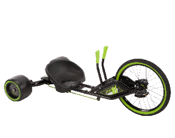 20-inch Green Machine tricycle