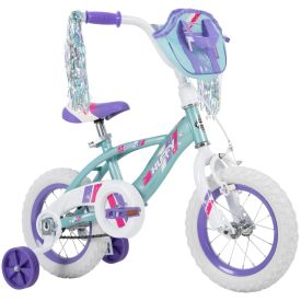 Glimmer Kid Bike Quick Connect 12 inch Blue