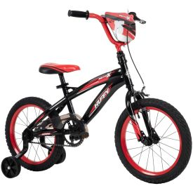 Huffy 16-inch bike in red and black