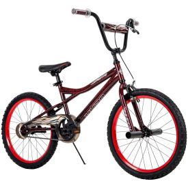 BMX Style Bike in red and black colors