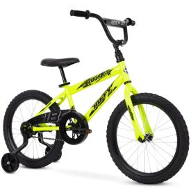 Neon yellow kids bike