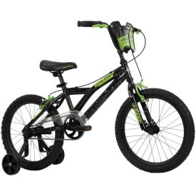 18 inch bicycle in green and black