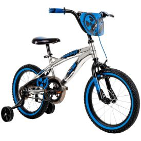 """16"""" blue and black Kinetic bike with Metaloid finish"""