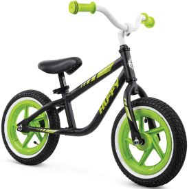 12-inch black balance bike