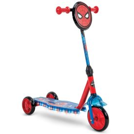 Spider-Man Electro-Light scooter with three wheels