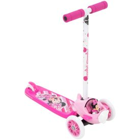 3-wheel pink Minnie Mouse Scooter