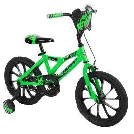 "ModX green and black 16"" bike for kids"
