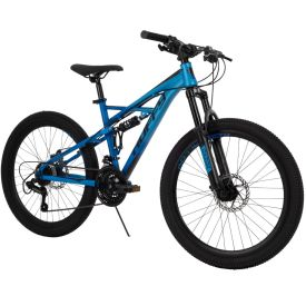 Oxide Men's Mountain Bike, Blue, 24-inch