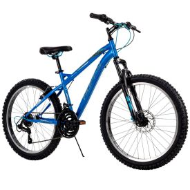 24-inch boys mountain bike with 18 speeds