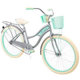 Nel Lusso ™ Women's Cruiser Bike, Matte Gray, 26-inch