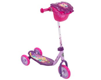 Purple Disney Princess Preschool scooter