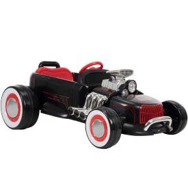 Rat Rod Ride-On Car, Black, 6V