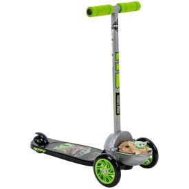 Star Wars 3 Wheel Scooter with baby yoda feature
