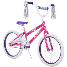 Sea Star™ Girls' EZ Build Bike, Purple, 20-inch