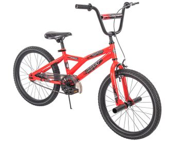 """Shockwave 20"""" kids' bike with BMX features"""
