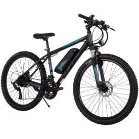 "Transic + 26"" black electric mountain bike"