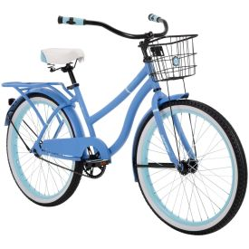 Blue 24-inch Woodhaven bicycle