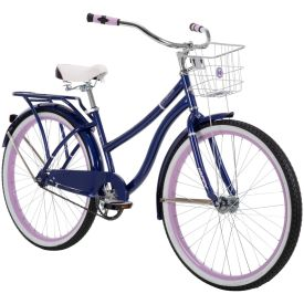 Purple 26-inch Woodhaven cruiser