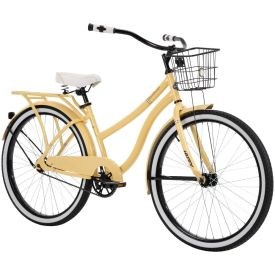Woodhaven ™ Women's Cruiser Bike, Light Yellow, 26-inch