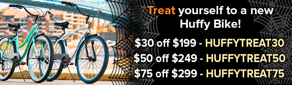 Treat Yourself to a New Huffy Bike! - Promotion Up to $75 off
