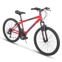 Stone Mountain Men's Mountain Bike, Red, 24-inch